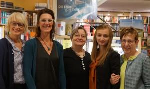 von links: Karen Trumpf-Bökemeier; Christine Schätzle; Ursula Heer; Katharina Schmidt; Annegret Mengedoth